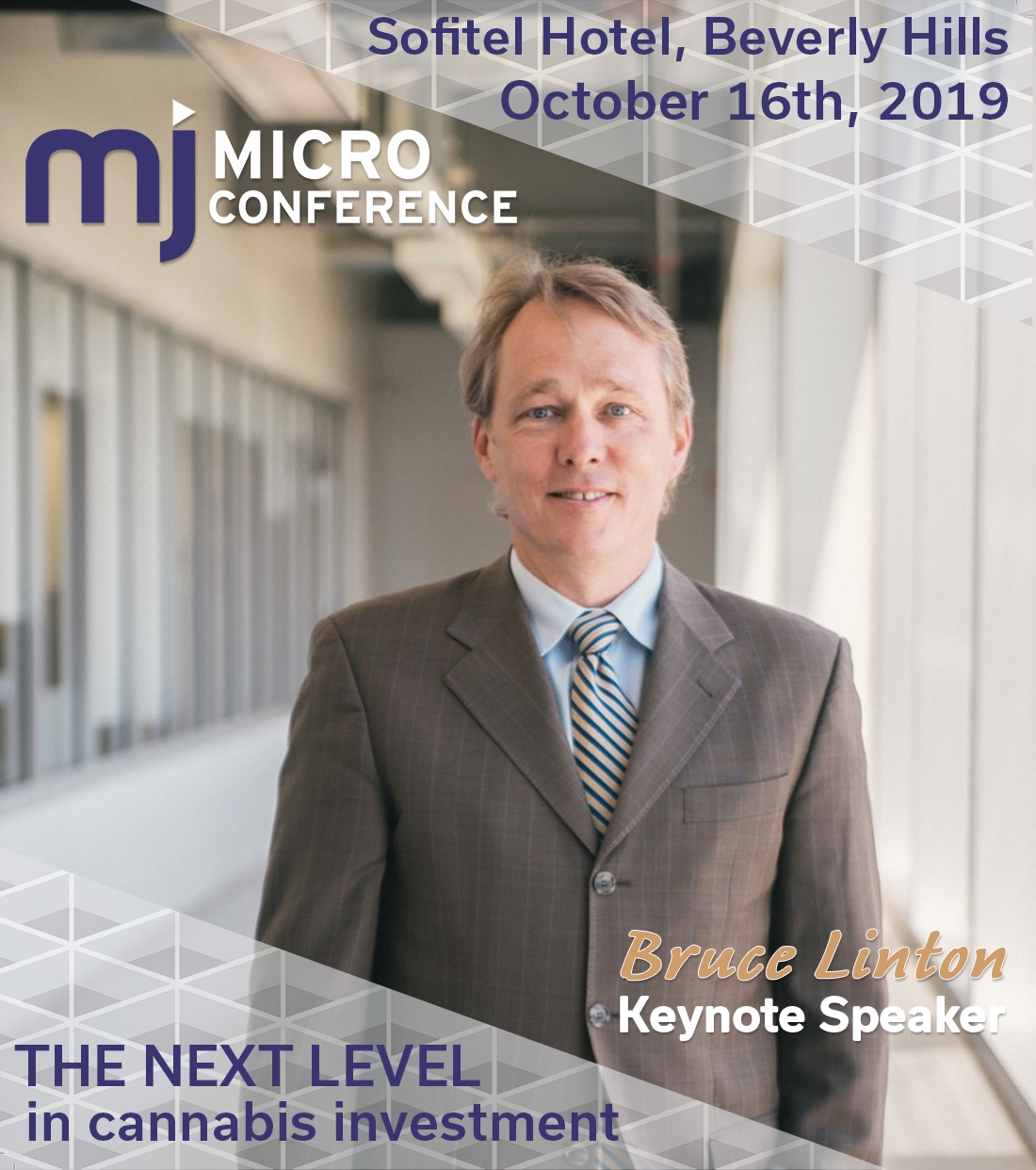 MjMicro Conference Beverly Hills - October 16th 2019 - Bruce Linton - WDLF