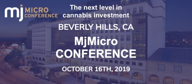 MjMicro Conference - Beverly Hills - October 16th 2019